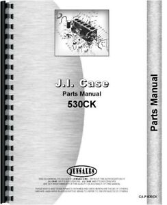 Case 530 Ck Construction King Tractor only Parts Manual Catalog