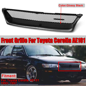 For 1993 1997 Toyota Corolla Ae101 Front Bumper Grill Grille Touring Wagon