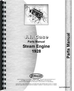 Parts Manual 1928 Case Steam Tractor