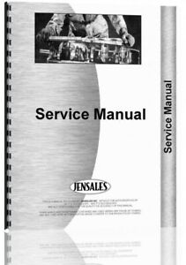 Service Manual International Harvester 186 Planter