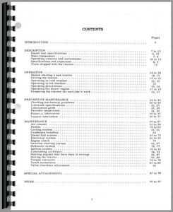 Operators Manual International Harvester Td24 Series 241 Crawler
