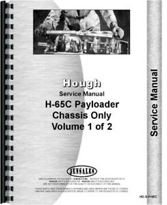 Hough H 65c Pay Loader Diesel Chassis Service Repair Manual
