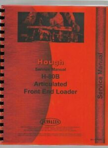 Hough H 80b Front End Loader Service Repair Manual Payloader Chassis