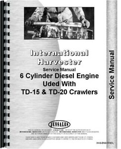 Service Manual International Td24 Ud1091 Ud525 Ud554 Udt1091 Diesel Engine
