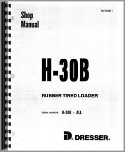 Hough H 30b Pay Loader Chassis Service Repair Manual