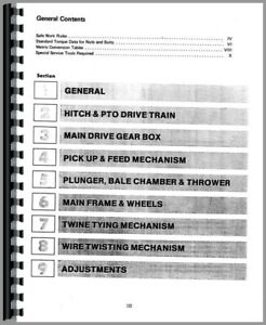 Service Manual International Harvester 420 440 445 425 435 430 Twine Baler