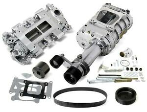 Weiand Supercharger System Roots 144 Series Polished Chevy Small Block Kit