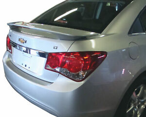 Factory Style 2 Post Painted Rear Spoiler With Light Fits 2010 2015 Chevy Cruze