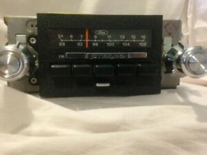 Vintage Car Radio 1982 Ford Am Fm Stereo