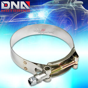2 75 Stainless T bolt Clamp For Intake Turbo Intercooler Silicone Hose Coupler
