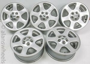 Set Of 5 Land Rover Discovery 18 Factory Oem Wheels Rims 99 04 72178 1782