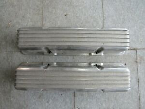 Sbc Finned Aluminum Valve Covers Small Block Chevy Hot Rod Kustom Wow Cool Parts