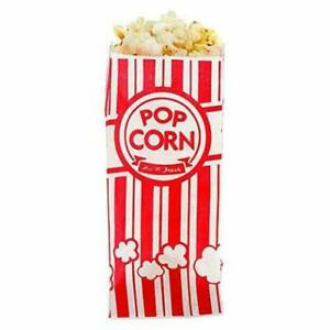 Popcorn Bags 1oz Classic Red White Stripes 1000