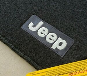 New 2011 2012 Jeep Grand Cherokee Premium Style Carpeted Floor Mats Oem