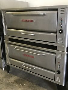 Blodgett 1048 Natural Gas Commercial Deck Pizza Oven 1048 High Volume
