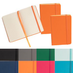 3pk Simply Genius Leatherette A6 Journal 3 7x5 7 Writing Notebook Lined Paper