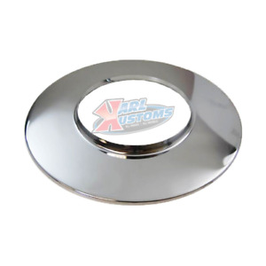 14 Chrome Steel Air Cleaner Base For 4500 Dominator Style 7 5 16 Flange