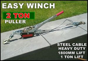 Workshop Winch Hoist Lift Car Smart Or Damaged Spares Lifter Repairs Engine New