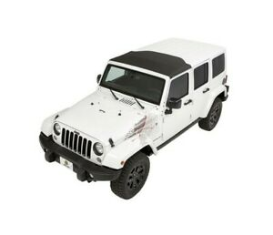 Bestop Sunrider Front Soft Top For Oe Hard Top Fits Jeep Jk Wrangler Black Twill