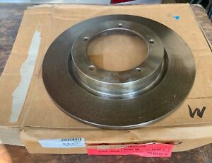 Porsche 356 356c Front Brake Rotor Zimmermann Made In Germany Nos New Old Stock