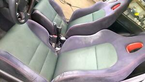 02 05 Honda Civic Si Ep3 Complete Seat Set Front Rear Oem