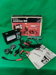 Vintage Sears Auto Analyzer System 20 Tune Kit 6 Pc Great For Older Vehicles