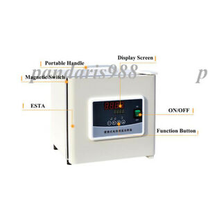 Portable Digital Display Incubator Electric Thermostat Portable 6l Microbial