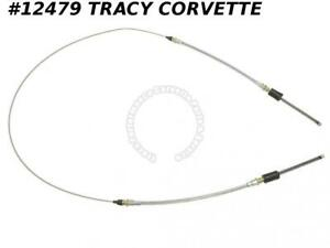 1965 1982 Corvette 3866427 Rear Parking Brake Cable Asy E Brake W Clips