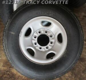 Chevrolet Bridgestone V steel Rlb265 Light Truck Tire Wheel Set 4 Lt245 75r16