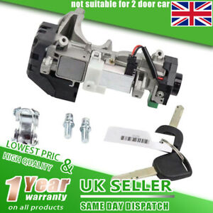 Ignition Switch Lock Cylinder 2 Keys For Honda Civic Accord Odyssey 2003 07