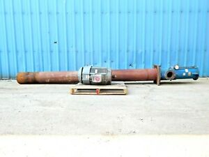 Mo 3266 Worthington 12l40 7 Stg Centrifugal Vertical Turbine Pump W 75hp Motor