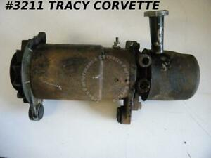 1959 Chevy Chevrolet 1102115 Original Generator With Power Steering Pump