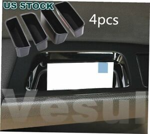 Fit For Ford Fusion 2013 2019 Car Armrest Container Door Storage Box Handle 4pcs