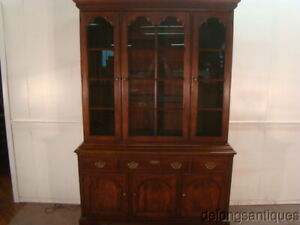 53415 Statton Solid Cherry 2 Piece China Cabinet