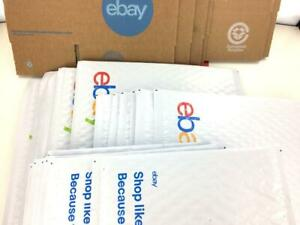 Ebay Shipping Supplies Kit Lot Boxes Padded Bubble Envelopes Mailers Tape 23 Ct