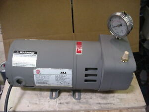 Thomas Oil less Air Vacuum Pump Pond Septic Aerator 291306 1 3hp 115v Gast Qr005