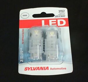 New Sylvania Turn Signal Light Bulb Led 3157 Front Rear For Off Road Use Only