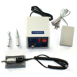 Dental Lab Electric Marathon Polisher Micro Motor Contra Angle Handpiece 35k Rpm
