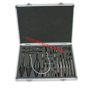 21pcs Private Ophthalmic Cataract Eye Micro Surgery Surgical Instruments