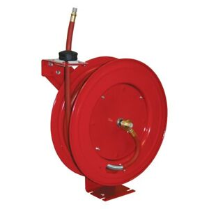 Atd 3 8 X 50 Retractable Air Hose Reel