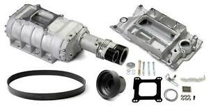 Weiand 6512 1 Supercharger System Roots 177 Series Satin Chevy Small Block Kit