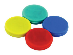 Master Magnetics 125in Ceramic Disc Magnets 05 Lb Pull 35 Mgoe Assorted 4 Pc