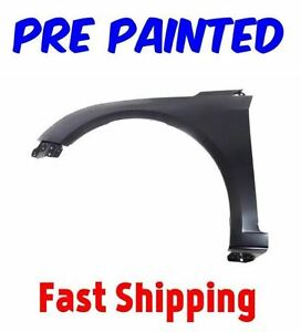 New Pre Painted Driver Lh Fender For 2011 2016 Chevy Cruze W Free Touchup