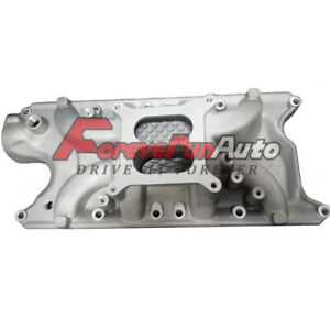 Sbc Small Block For Chevy Aluminum Intake Manifold Dual Plane 350 383 1997 up