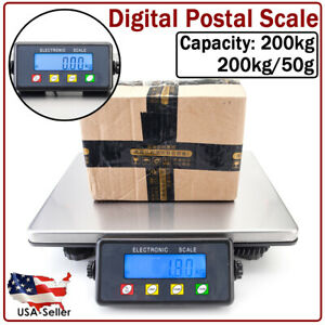 Digital Shipping Postal Scale Counter top Weight Postage W batteries