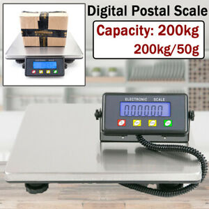 200kg 50g Portable Lcd Digital Shipping Postal Scale Weight Postage Counting Usa