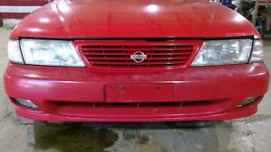 95 97 Nissan 200sx Front Bumper Assembly Oem Aztec Red