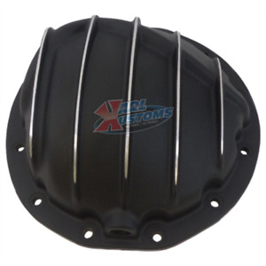 Aluminum Differential Rearend Cover Chevy Gm 8 8 Ring Gear 12 Bolt Black