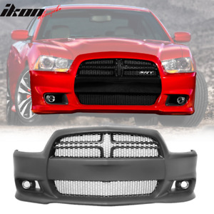 Fits 11 14 Dodge Charger Srt8 Style Front Bumper Cover Conversion Pp