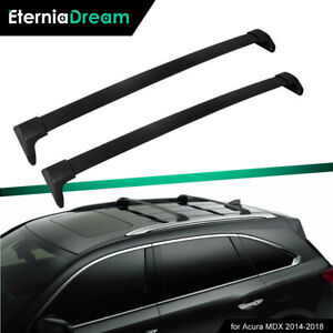 New Top Cargo Luggage Roof Rack Crossbar Cross Bar Fit For Acura Mdx 2014 2019